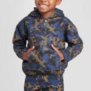 Art Class Camo Pullover Jacket